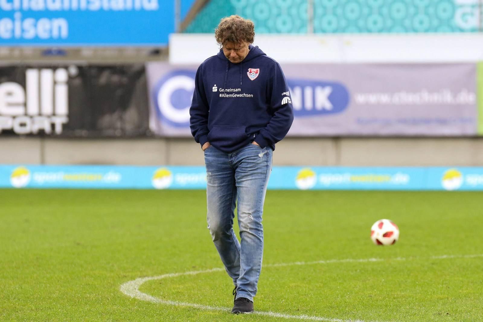 Stefan Krämer als Trainer des KFC Uerdingen