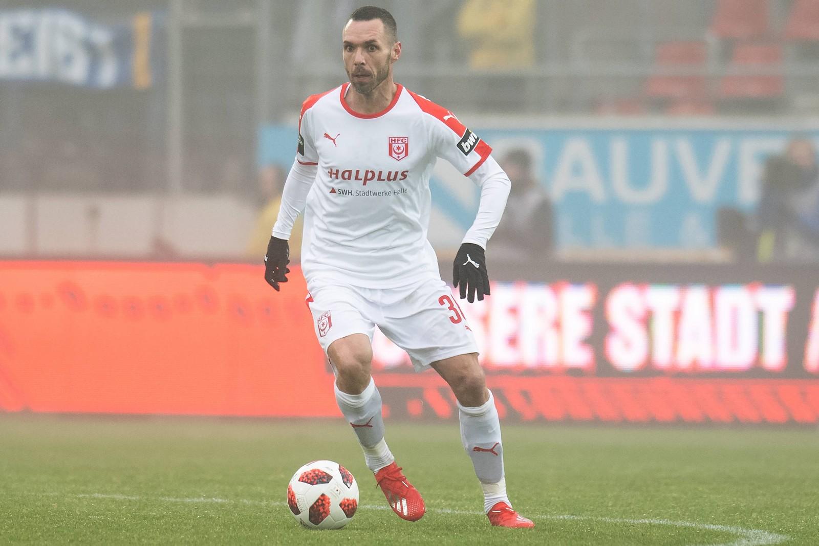 Christian Tiffert beim Halleschen FC