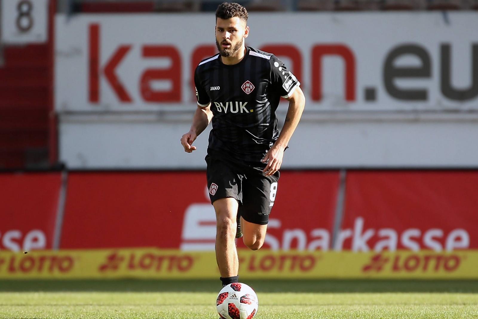 Dave Gnaase von den Würzburger Kickers