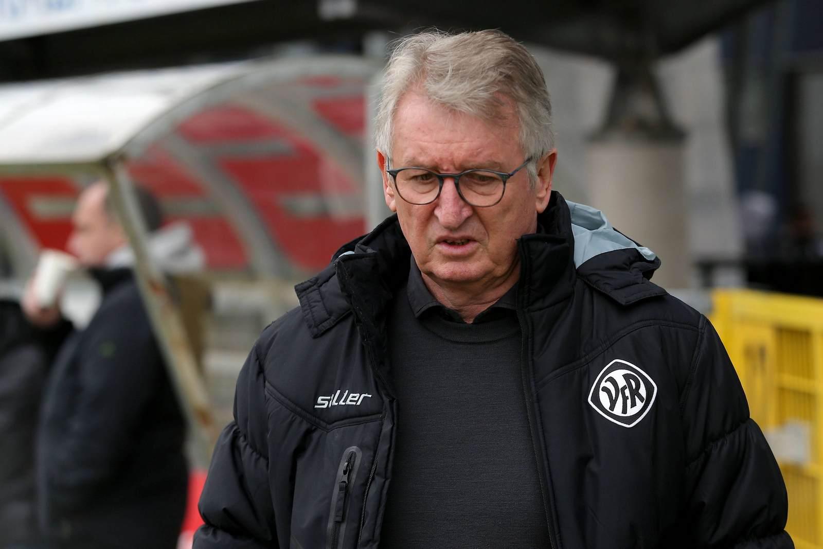 Hermann Olschewski als Sport-Vorstand des VfR Aalen