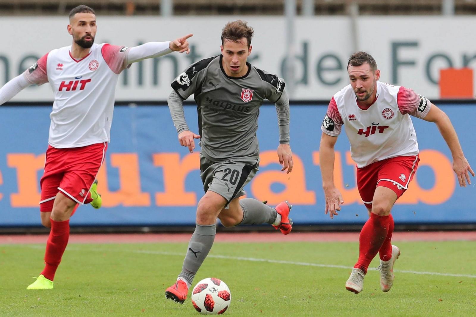 Maximilian Pronichev vom Halleschen FC