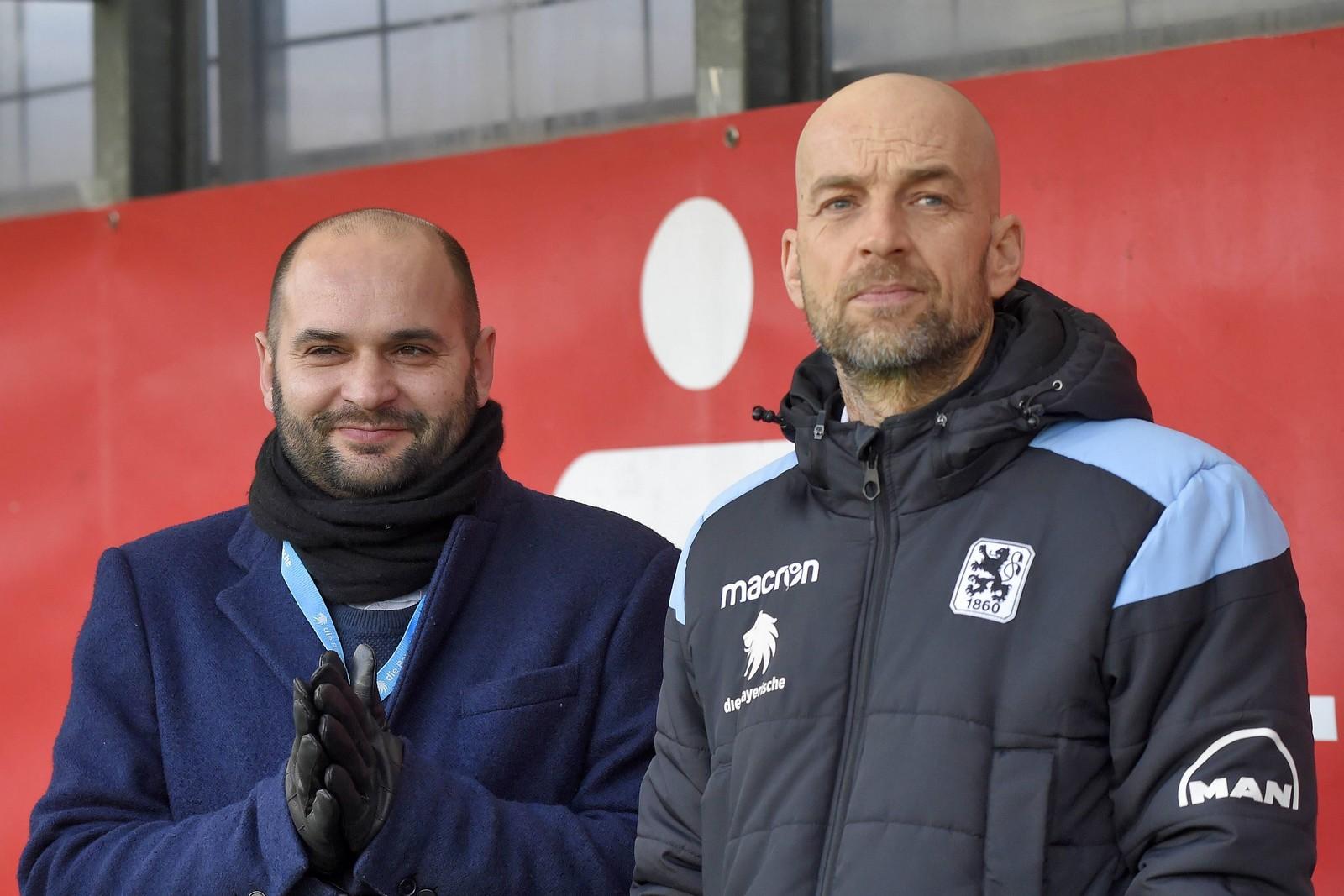 Michael Scharold (l.) und Günther Gorenzel