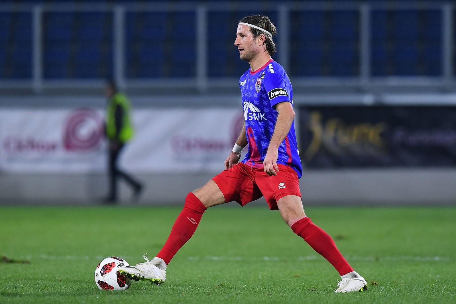 Stefan Aigner im Spiel gegen Münster.