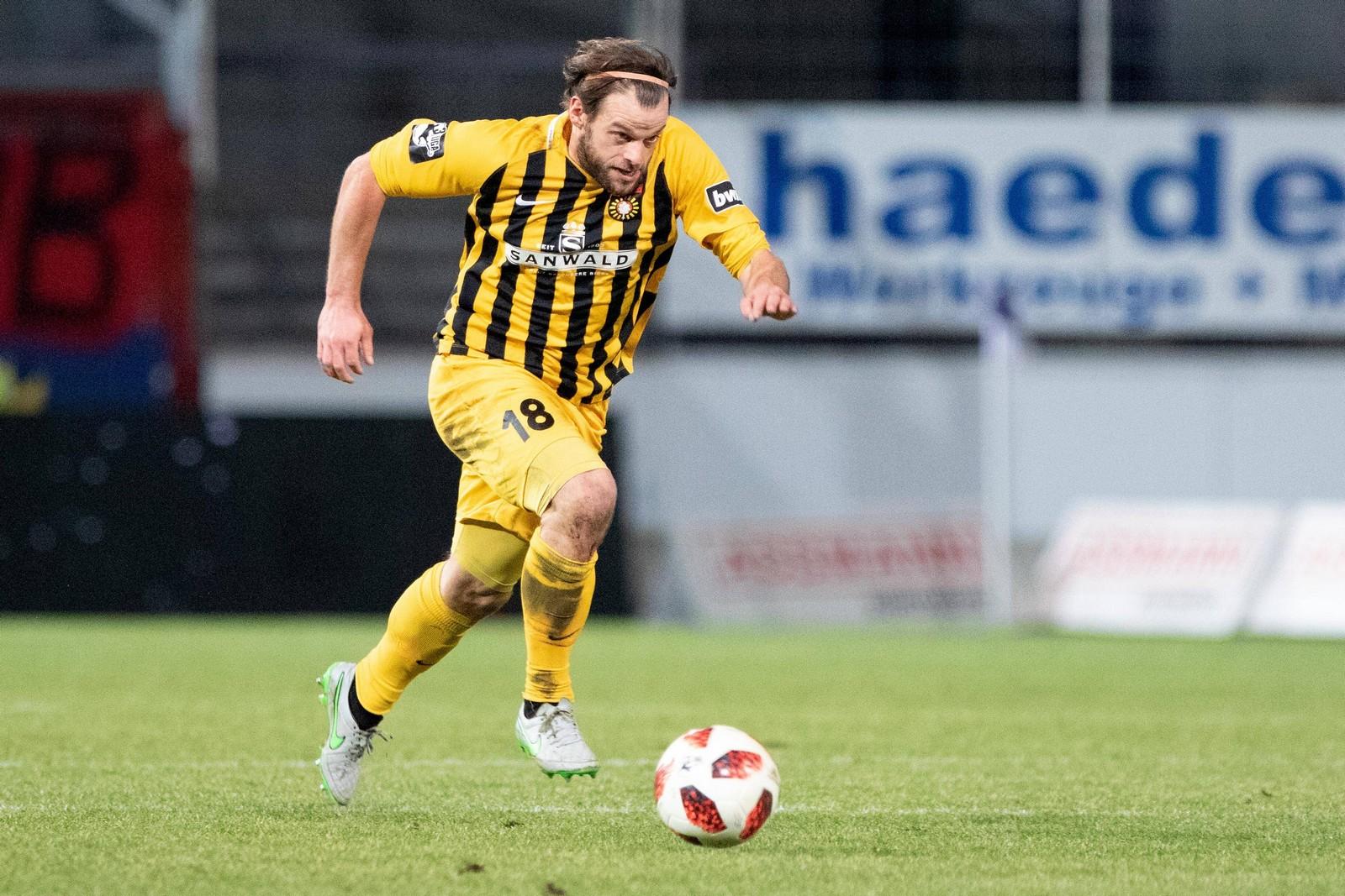 Timo Röttger im Spiel gegen Osnabrück.