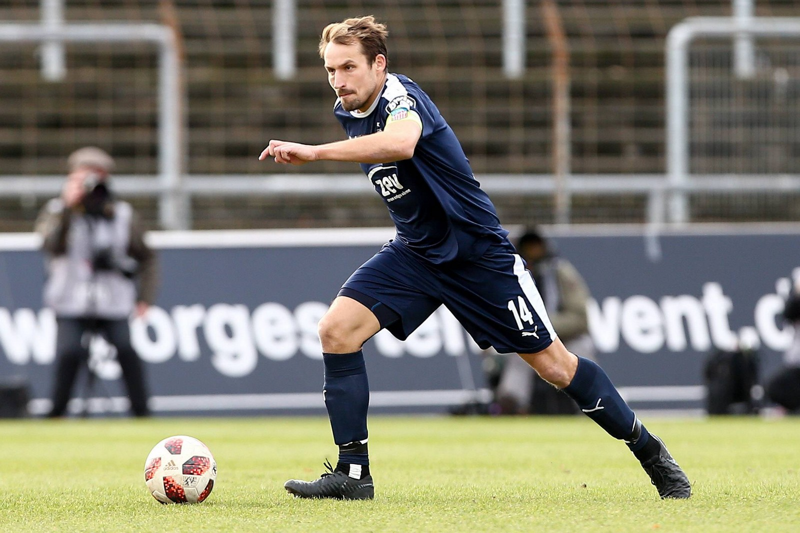 Toni Wachsmuth im Spiel gegen Fortuna Köln.