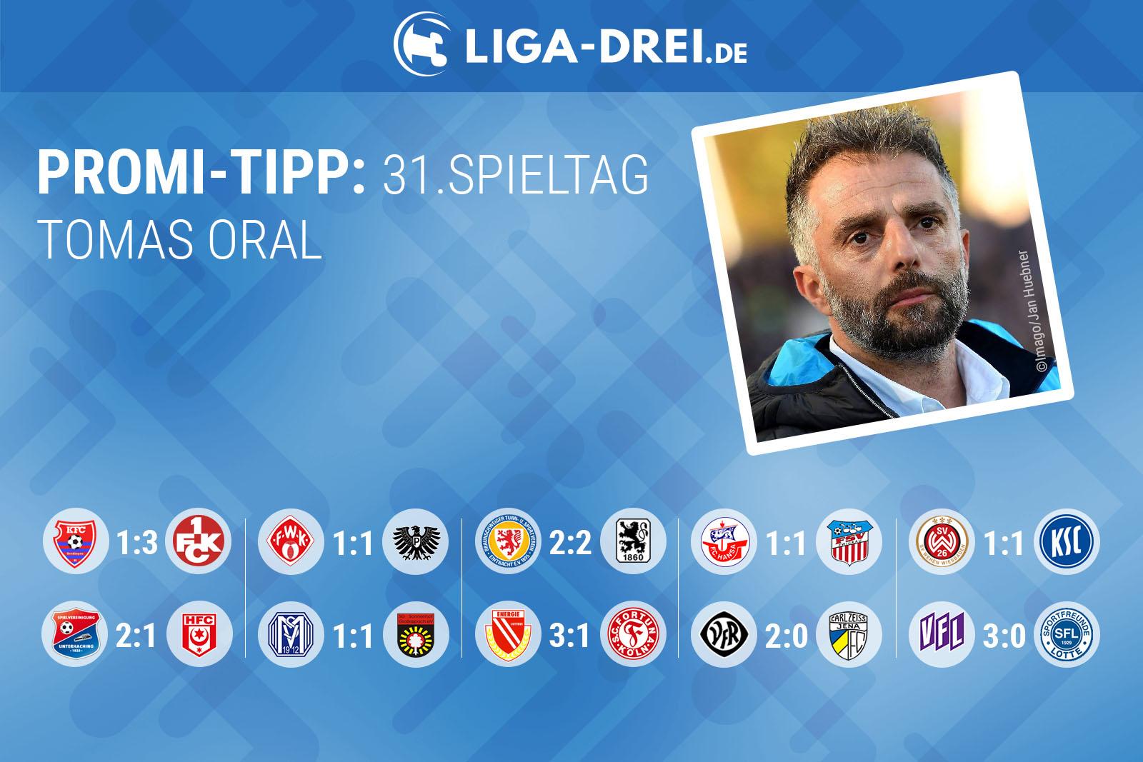 tippspiel, liga 3, oral