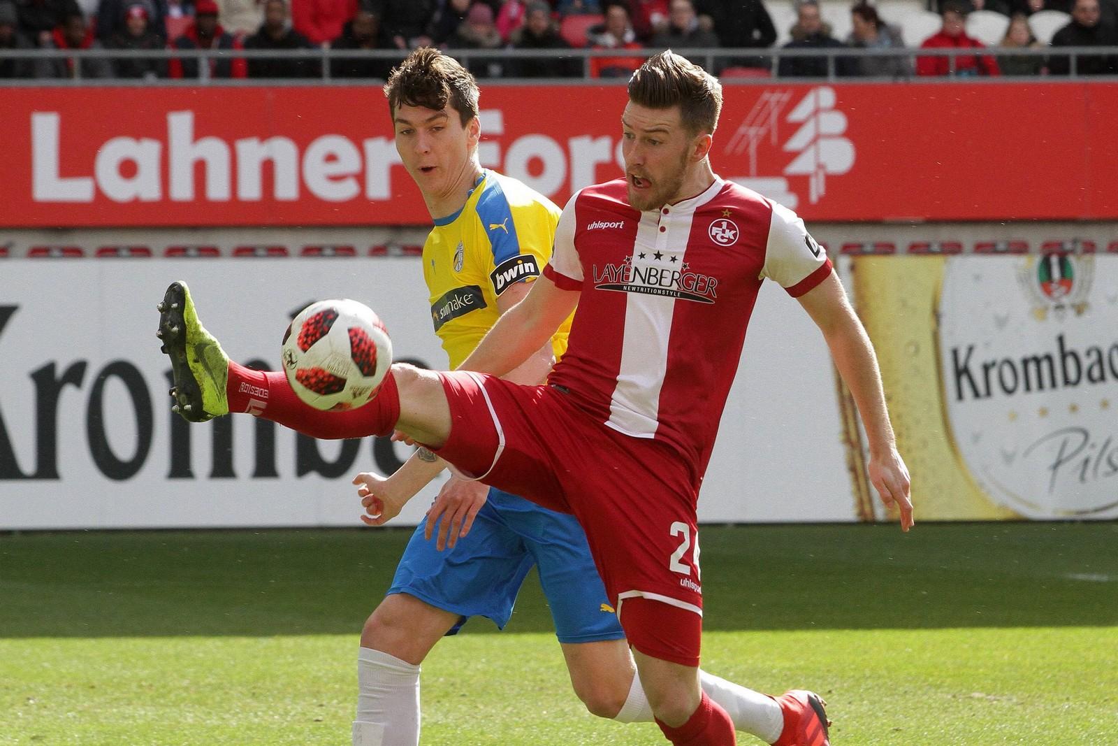 Christian Kühlwetter (r.) gegen Dominic Volkmer.
