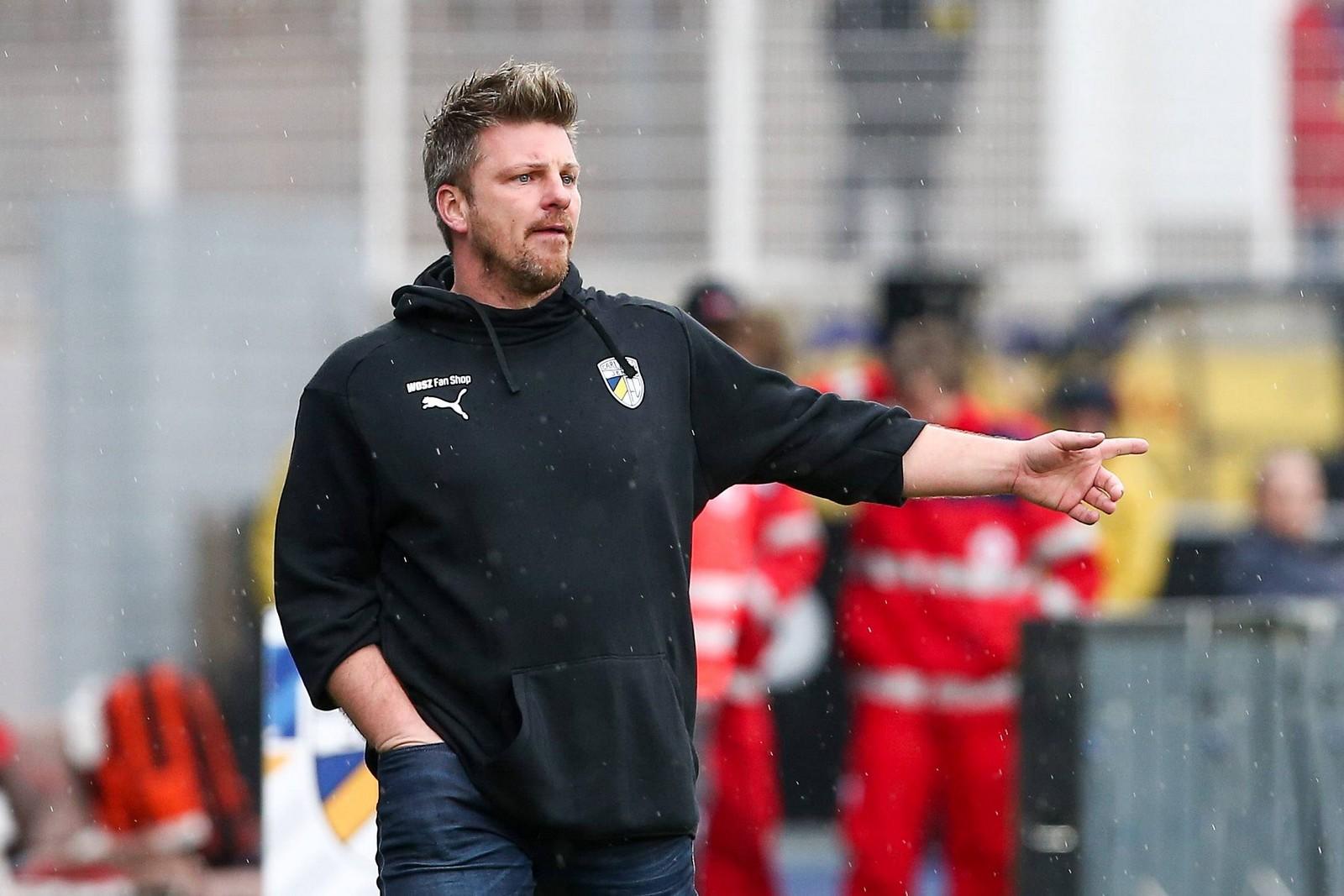 Lukas Kwasniok vom FC Carl Zeiss Jena