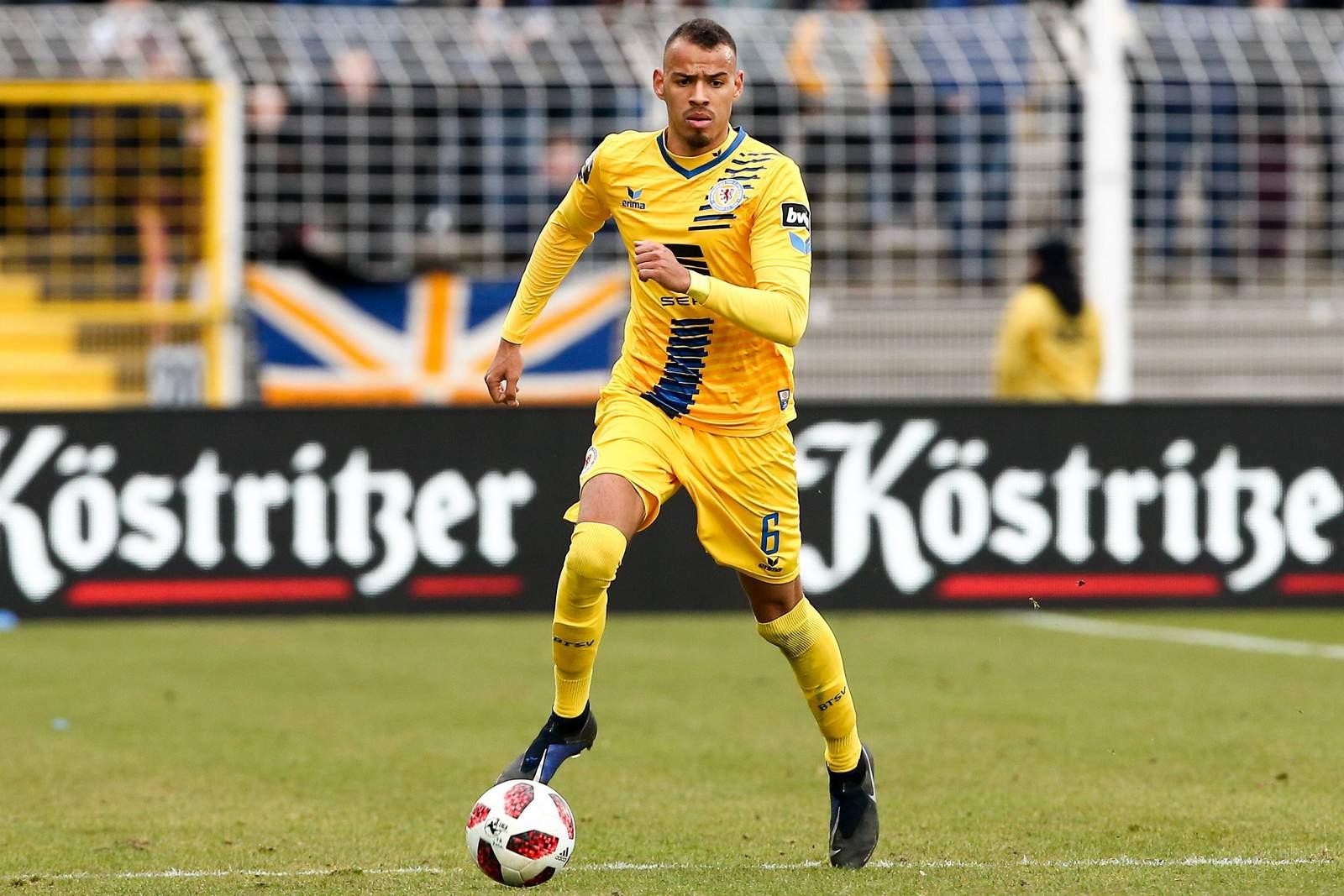 Steffen nkansah von Eintracht braunschweig