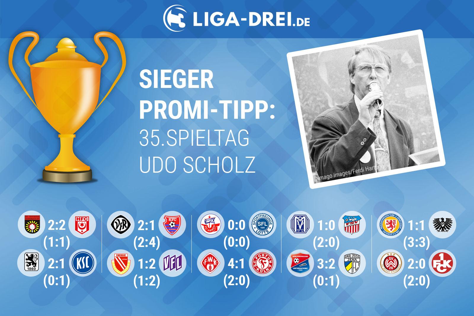 Udo Scholz beim Promi-Tipp