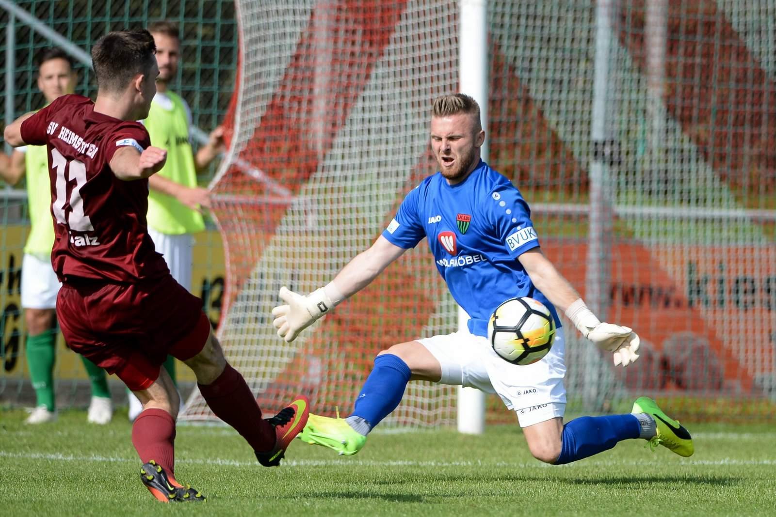 Alexander Eiban vom 1. FC Schweinfurt