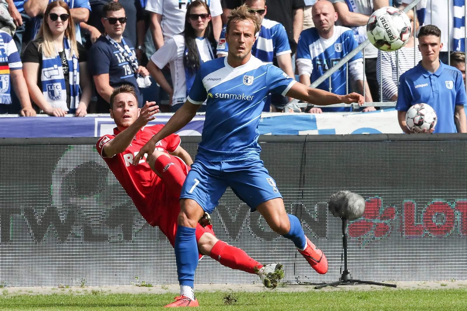 Felix Lohkemper vom 1. FC Magdeburg