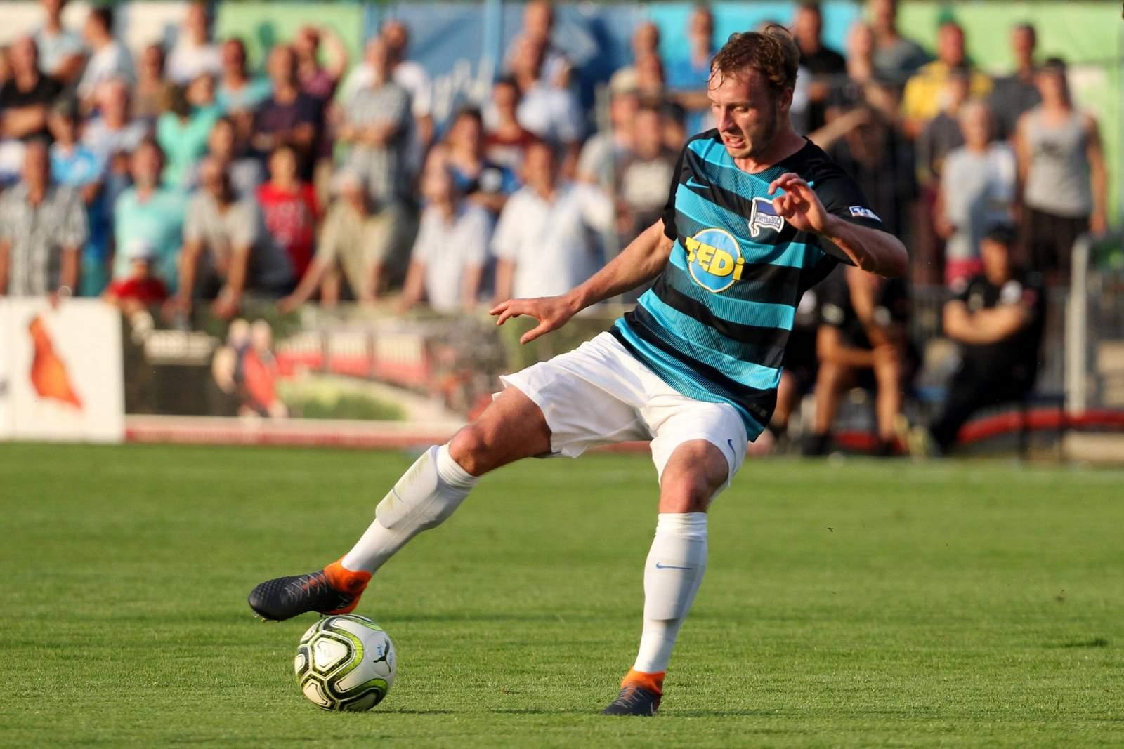 Florian Egerer im Trikot von Hertha BSC