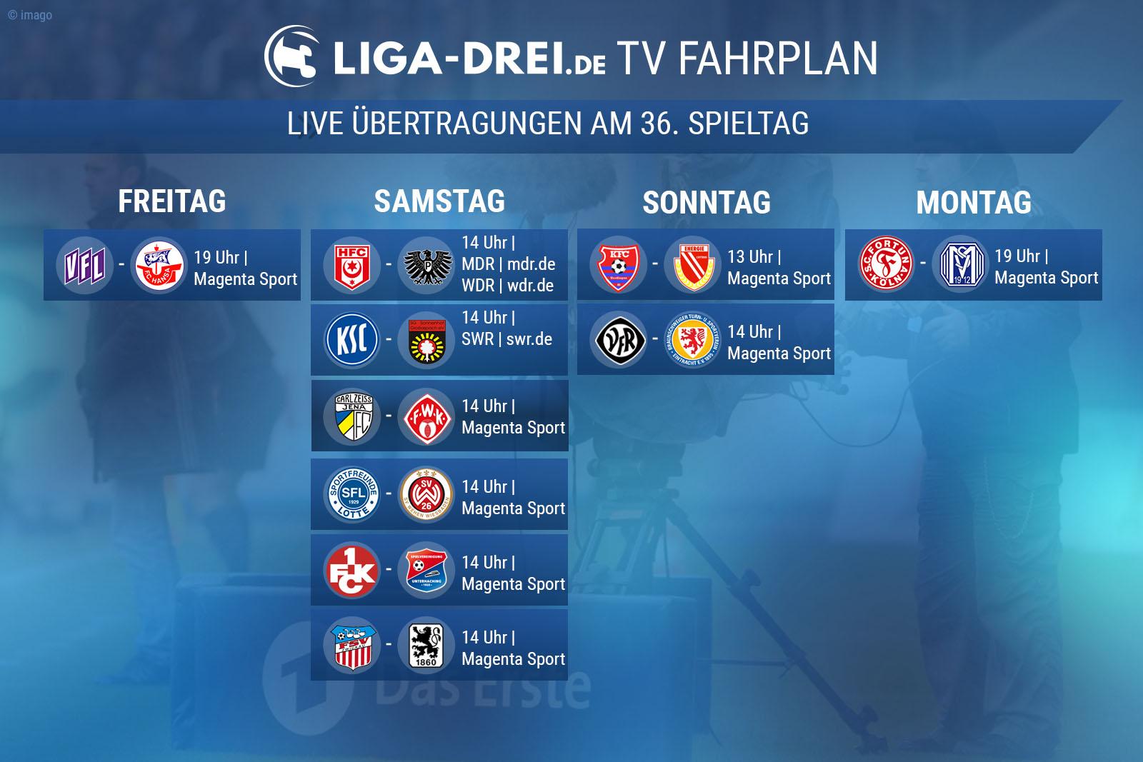 tv-fahrplan-dritte liga- free-tv