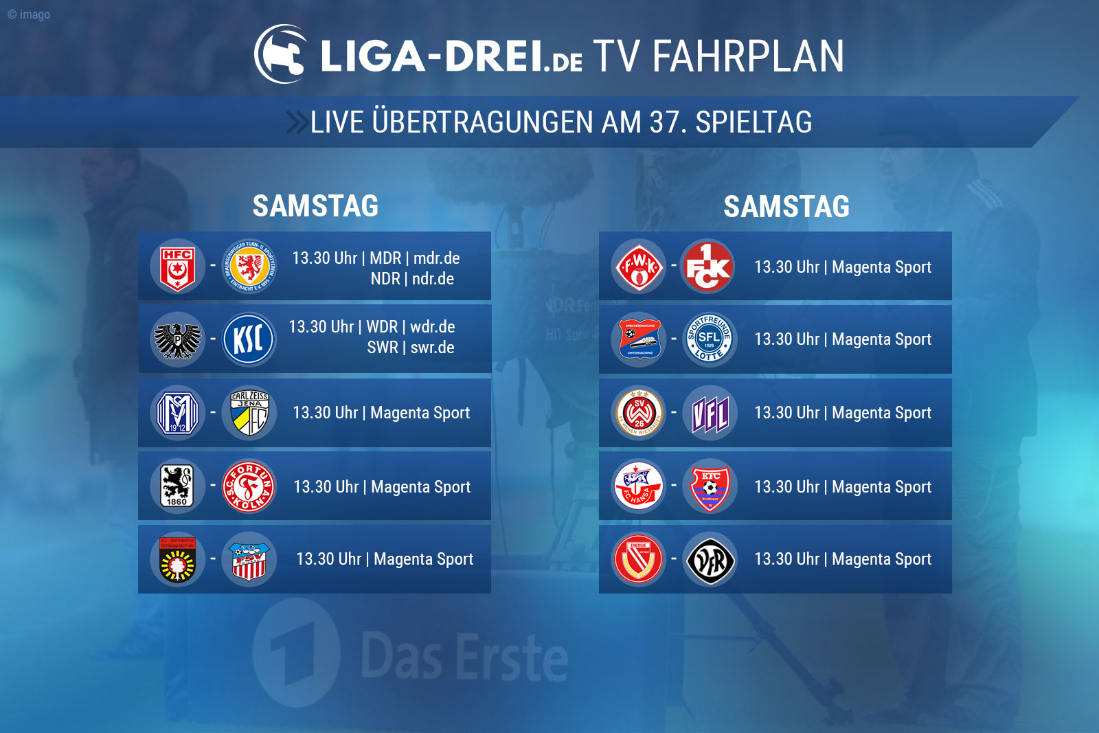 3. liga, tv fahrpan, free tv