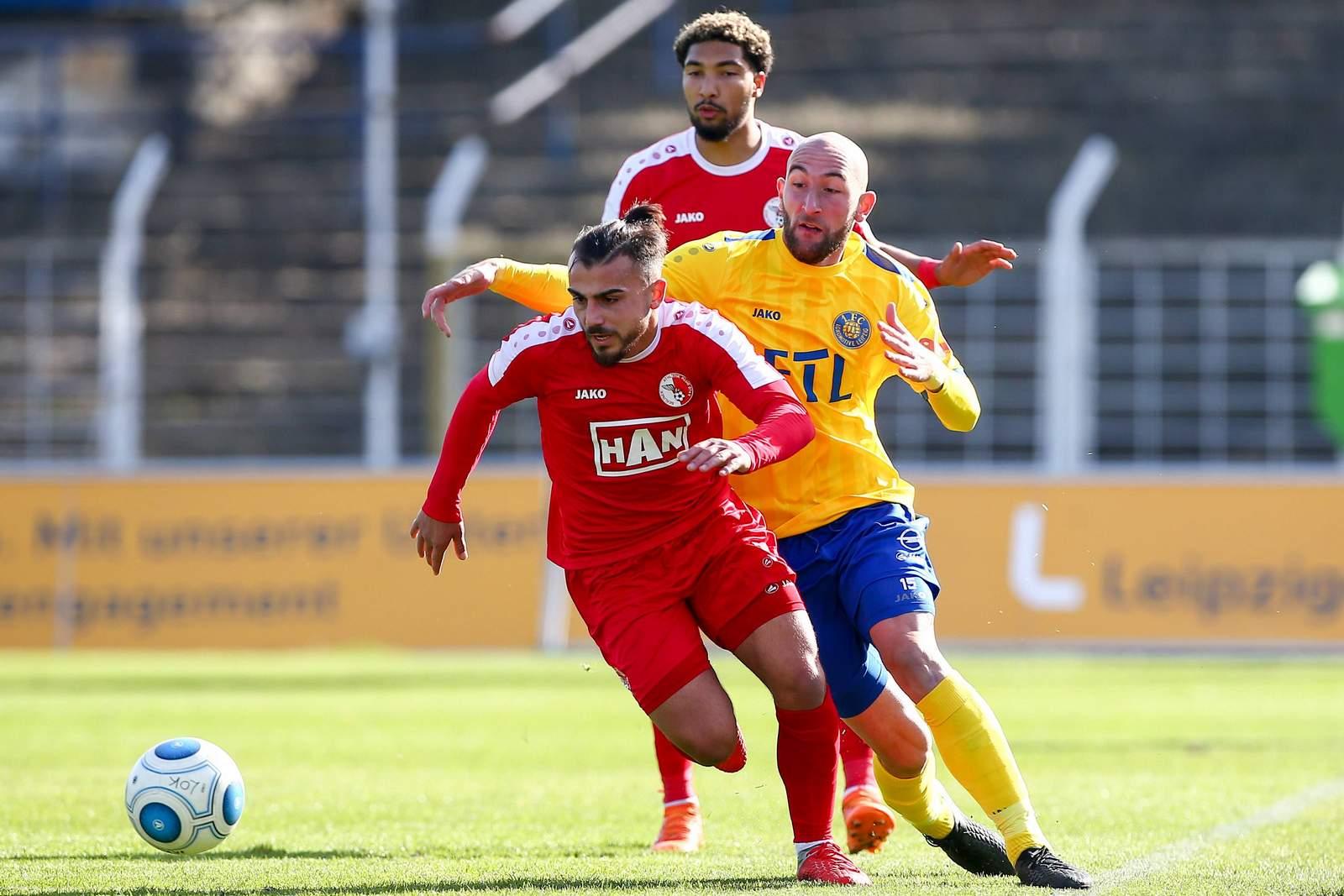 Seref Özcan am Ball für den BAK