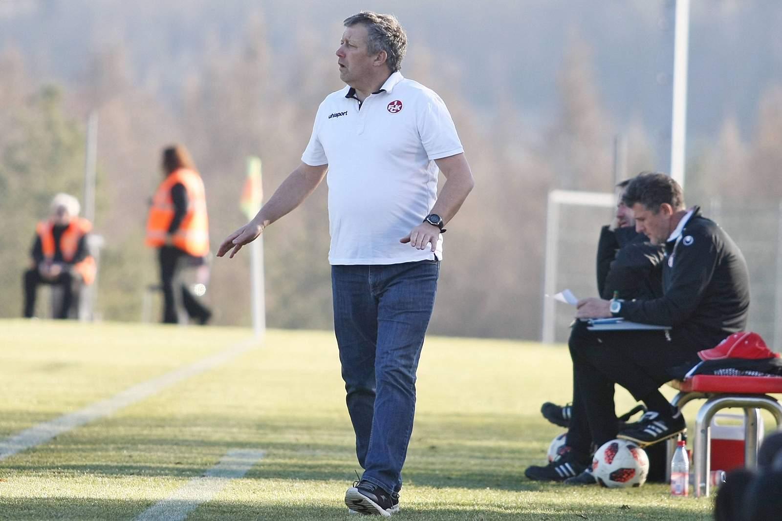 Hans Werner Moser bei der U21 des FCK
