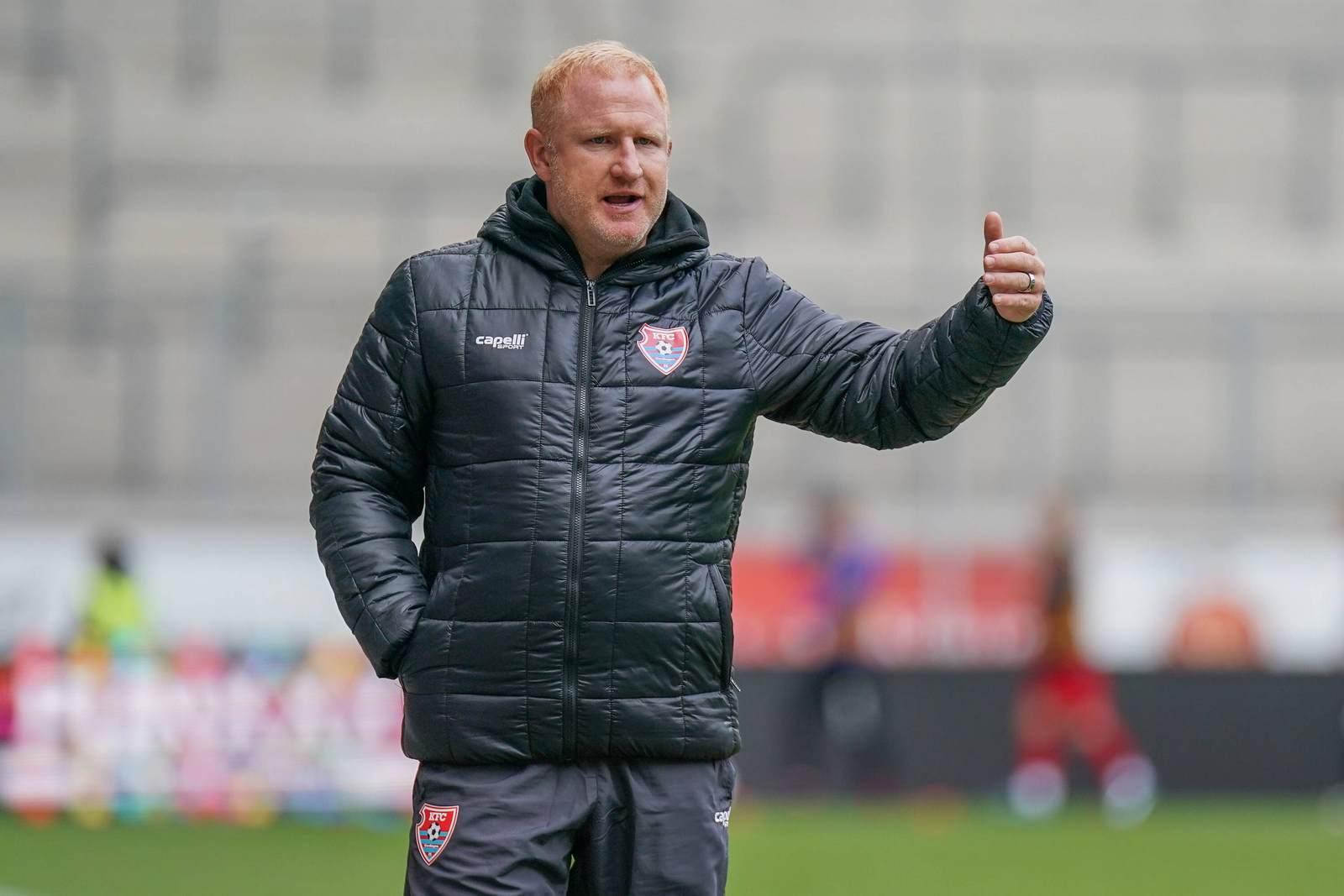 Heiko Vogel als Trainer des KFC Uerdingen