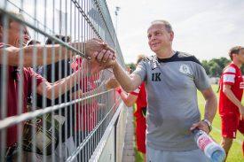 """Optik Rathenow: """"Wollen mit Cottbus ein friedliches Fußballfest feiern"""""""
