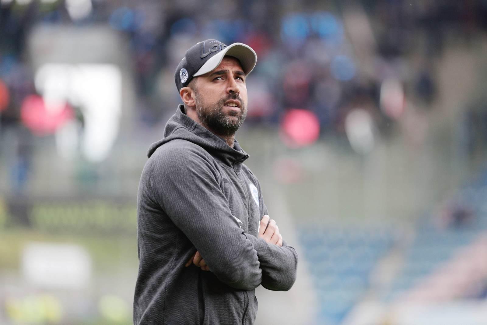 Ismail Atalan als Trainer der Sportfreunde Lotte
