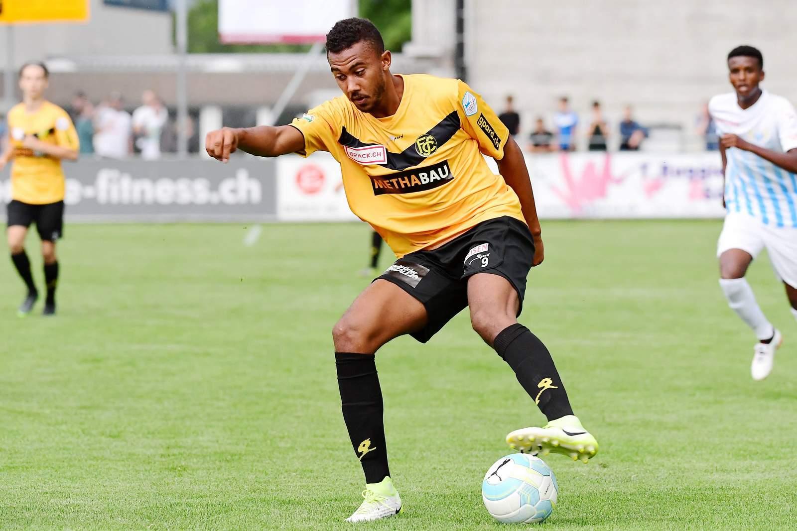 Karim Barry vom FC Schaffhausen