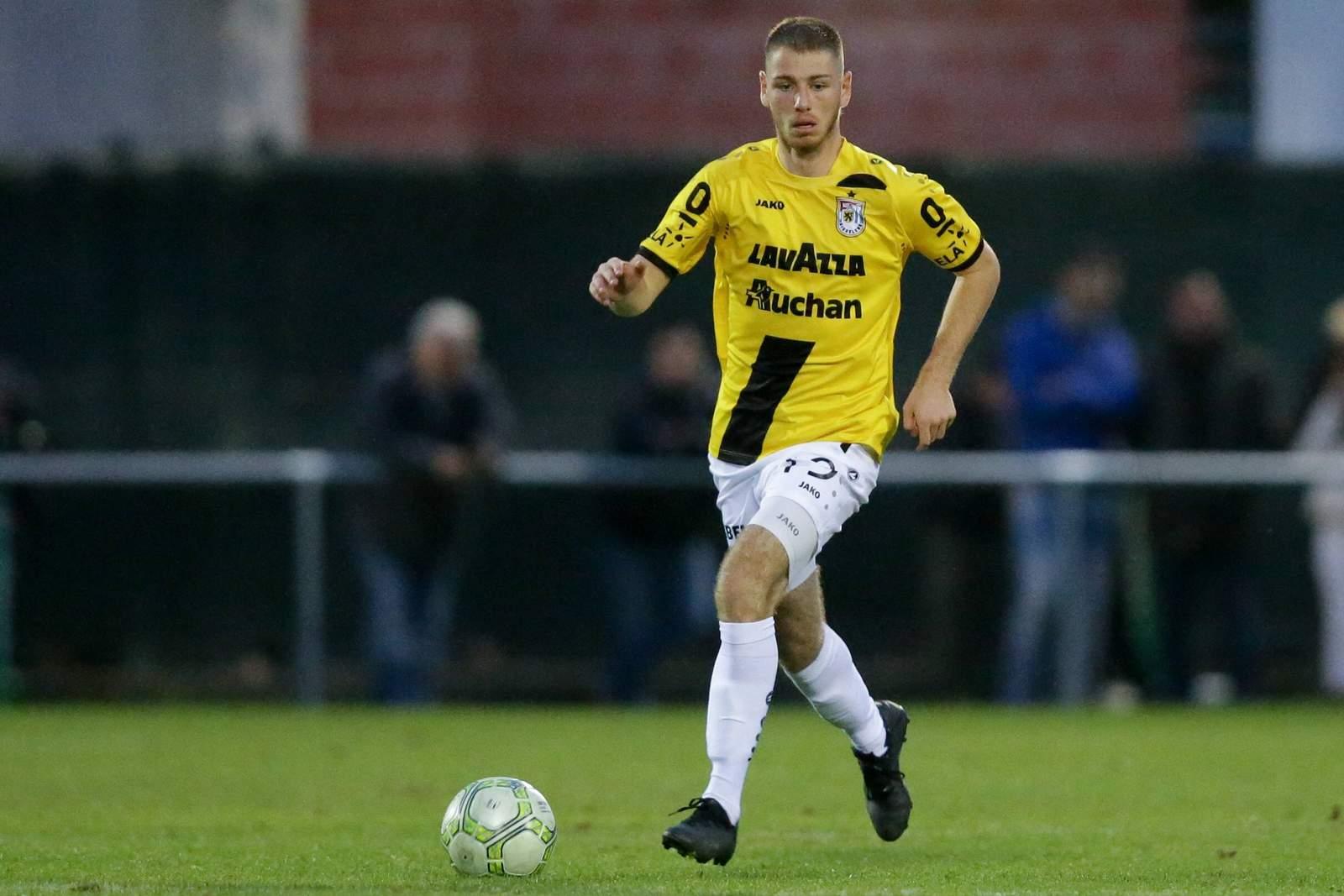 Leon Jensen im Dress von F91 Düdelingen.