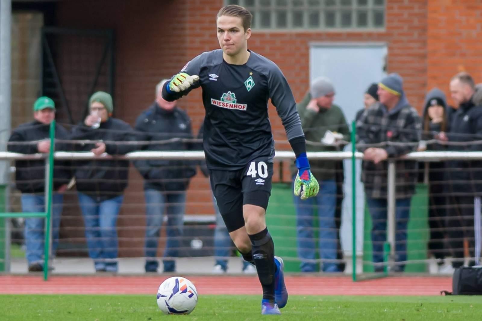 Luca Plogmann von Werder Bremen