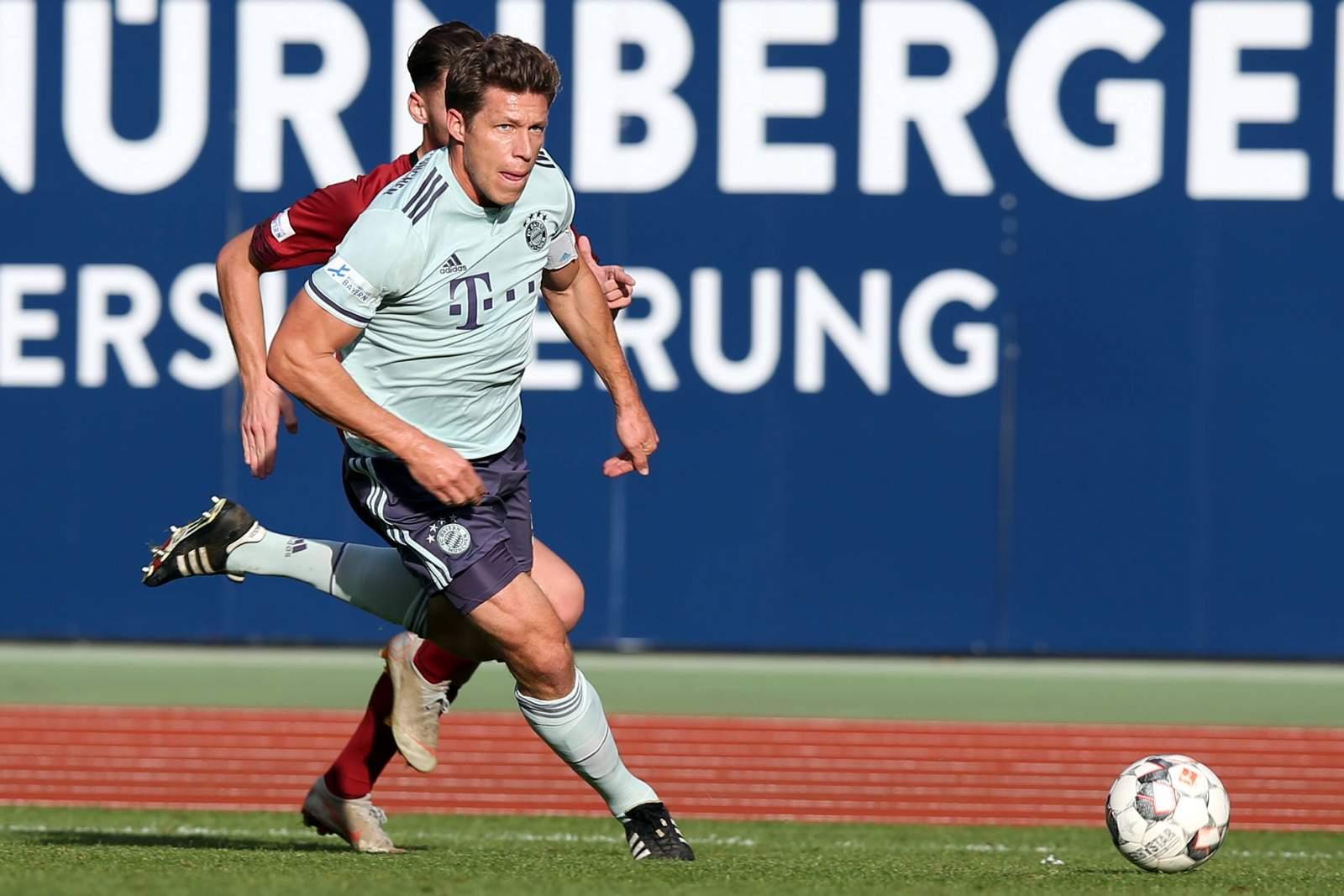 Nicolas Feldhahn von der Bayern U23