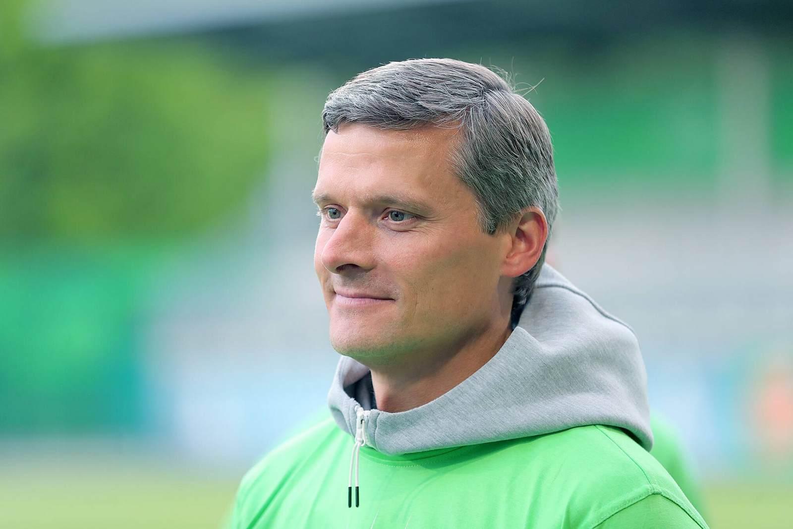Rüdiger Ziehl als Trainer der VfL Wolfsburg U23