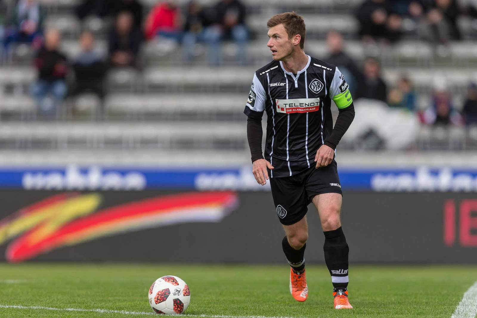 Thomas Geyer am Ball für den VfR Aalen