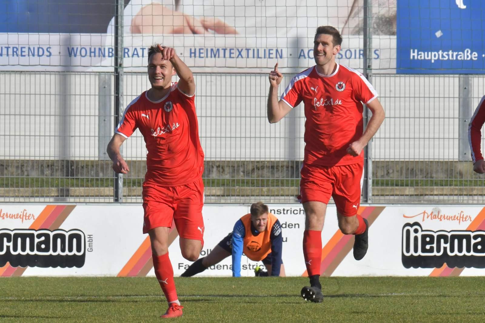 Steffen Lang und Tobias Willers bei Viktoria Köln