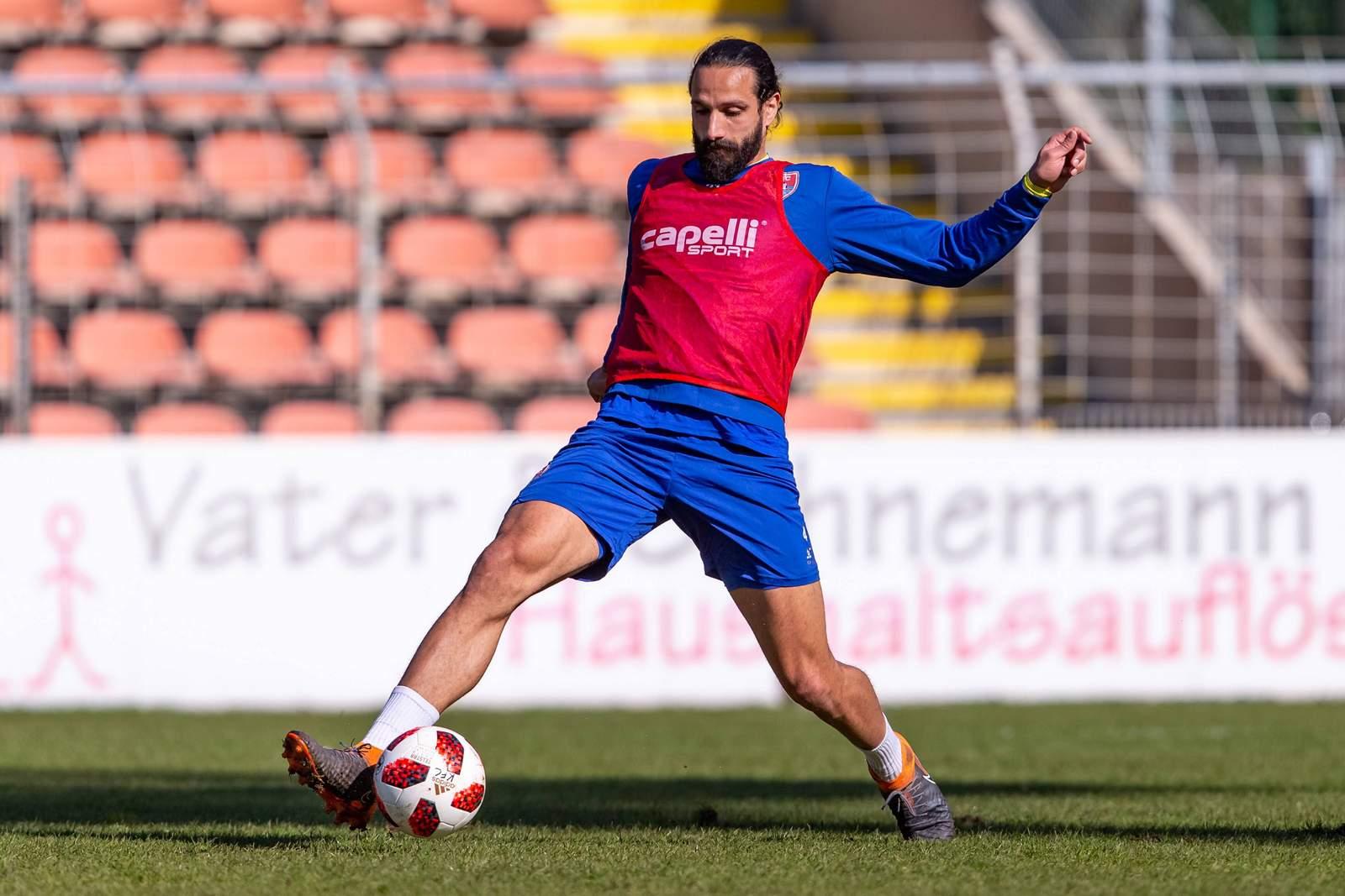 Adriano Grimaldi im Training