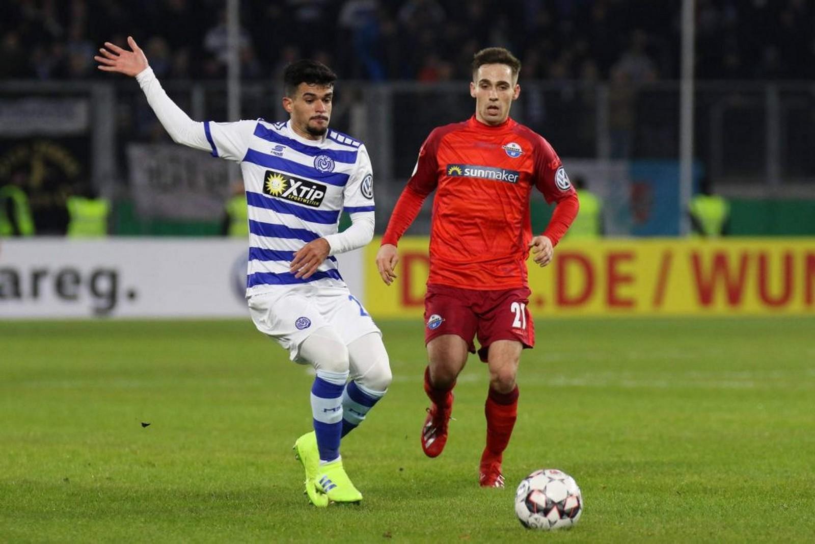 Cauly (l.) gegen Philipp Klement.