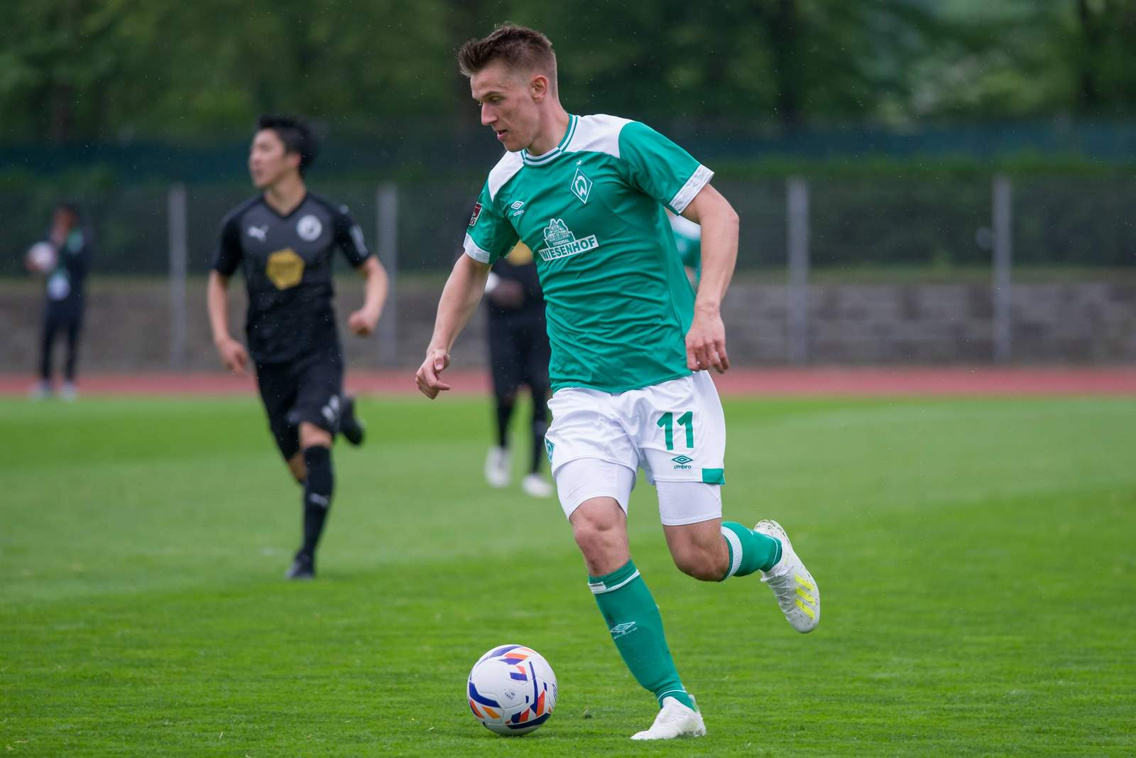 Florian Dietz bei der U23 des SV Werder