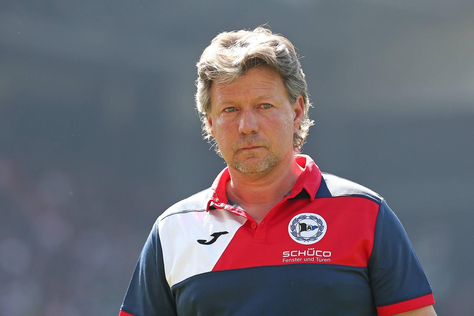 Jeff Saibene als Trainer in Bielefeld