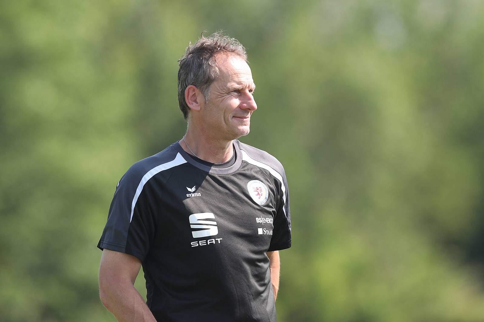Frank Eulberg von Eintracht Braunschweig