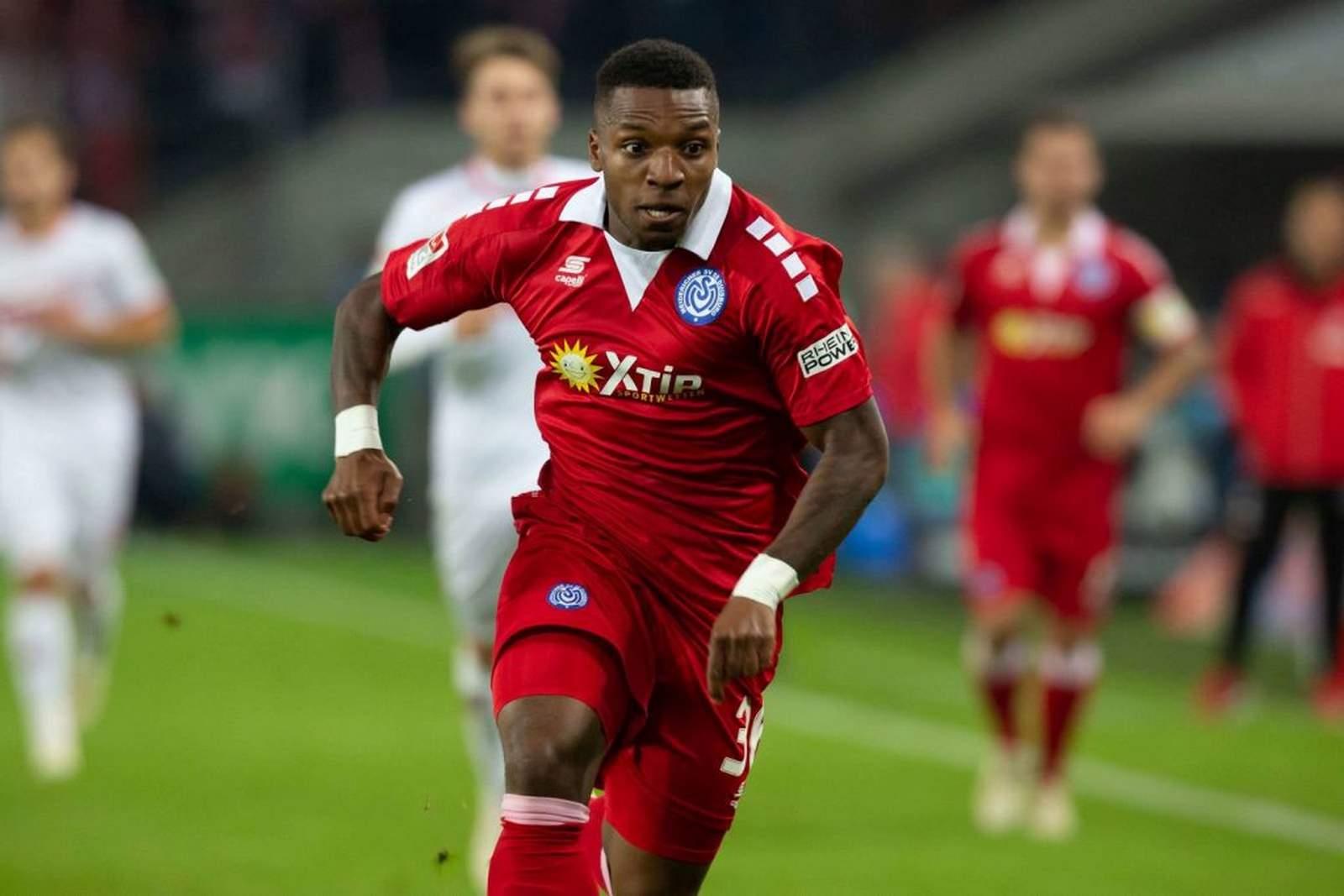 Jo Gyau vom MSV Duisburg