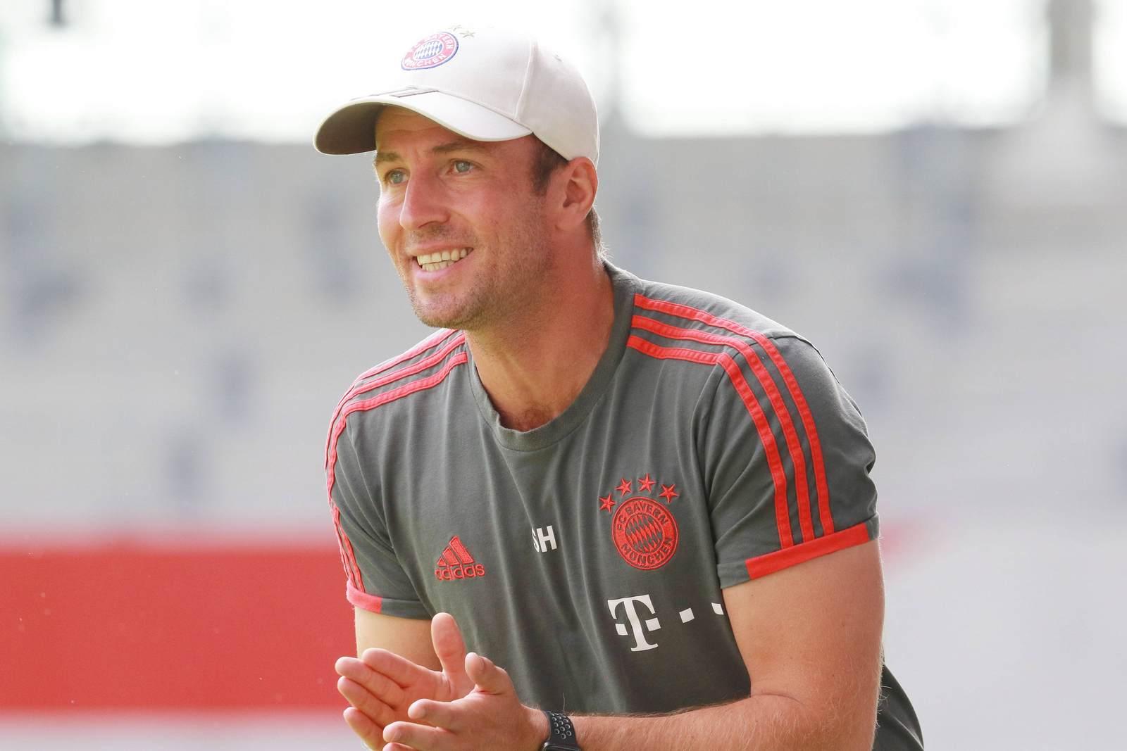 Sebastian Hoeneß beim FC Bayern