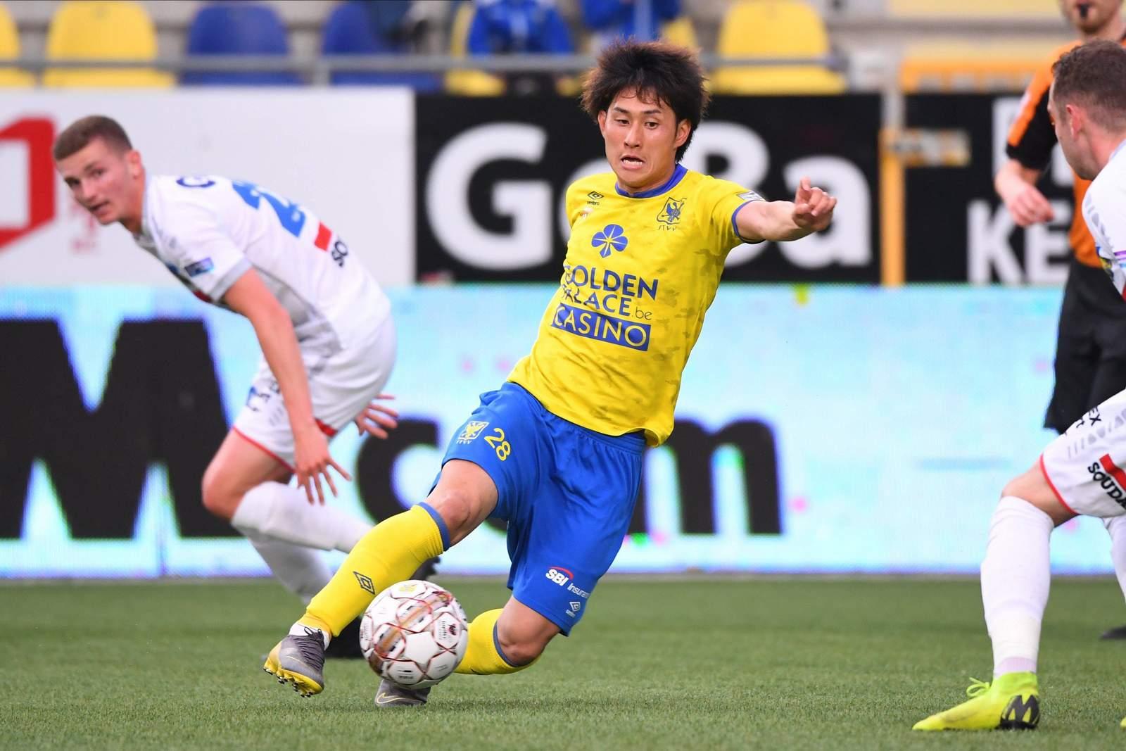 Takahiro Sekine in Aktion.
