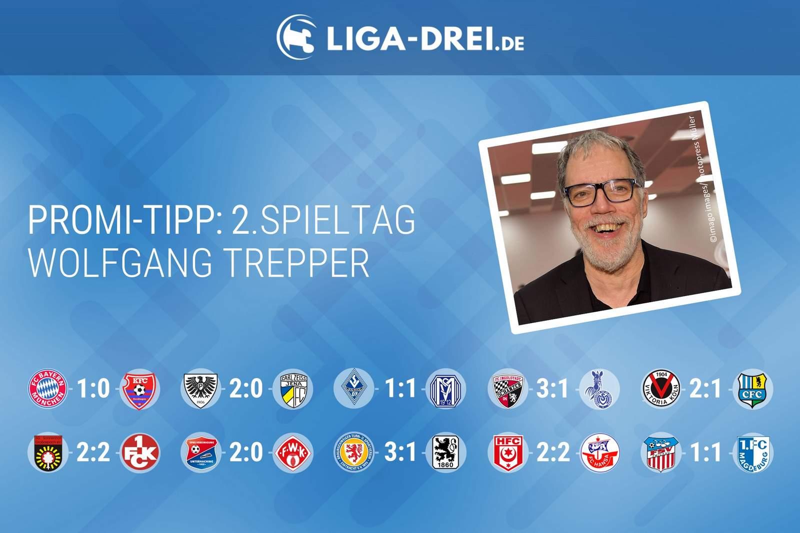 Wolfgang Trepper beim Promi-Tipp