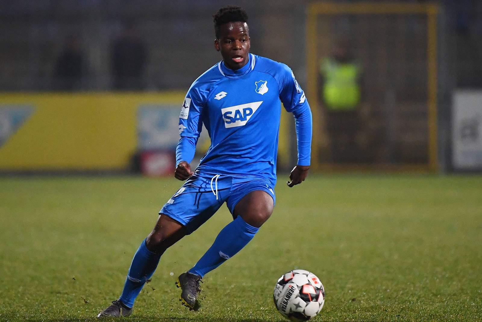 Alfons Amade bei der U23 von Hoffenheim