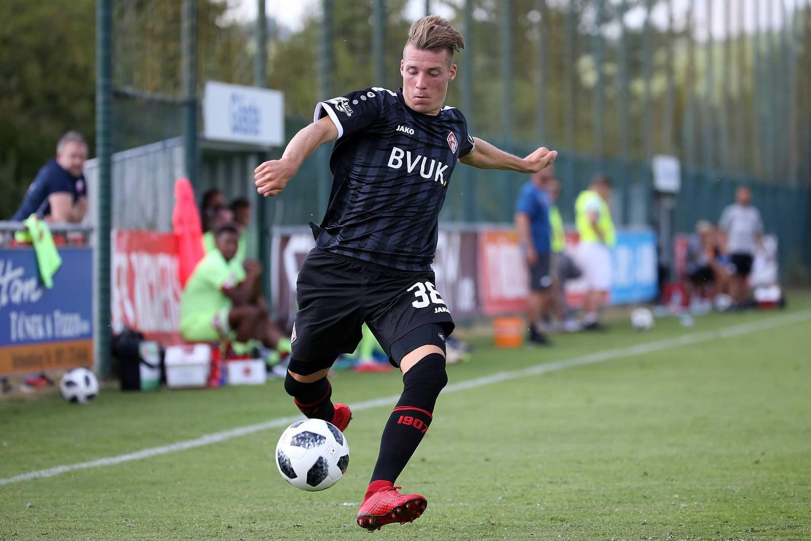 Dominik Widemann von den Würzburger Kickers