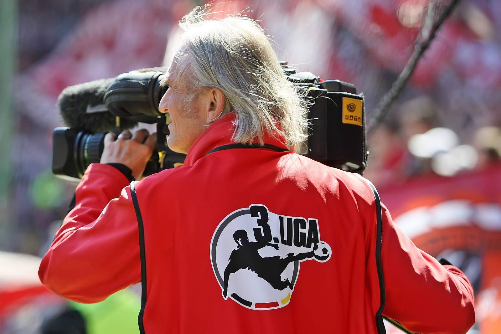 Kameramann in der 3. Liga