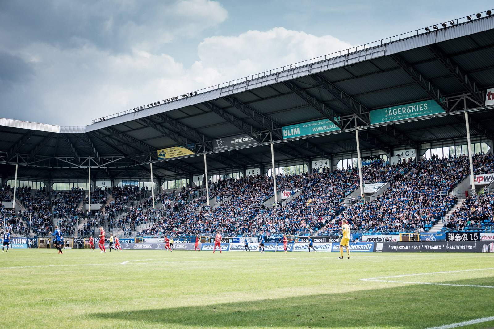 carl benz stadion. waldhof mannheim, 3.liga