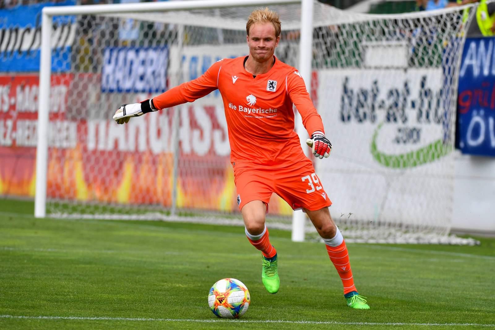 Hendrik Bonmann im Test gegen Ried.