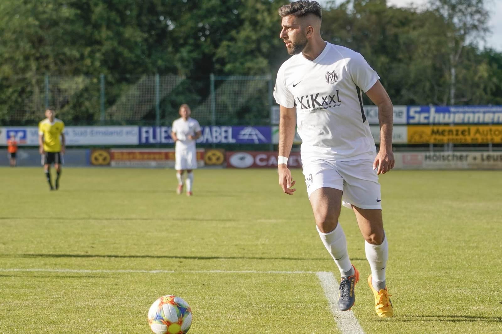 Hilal El Helwe im Trikot des SV Meppen