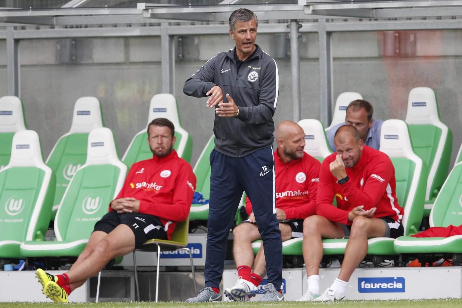 Hansa-Coach Jens Härtel.