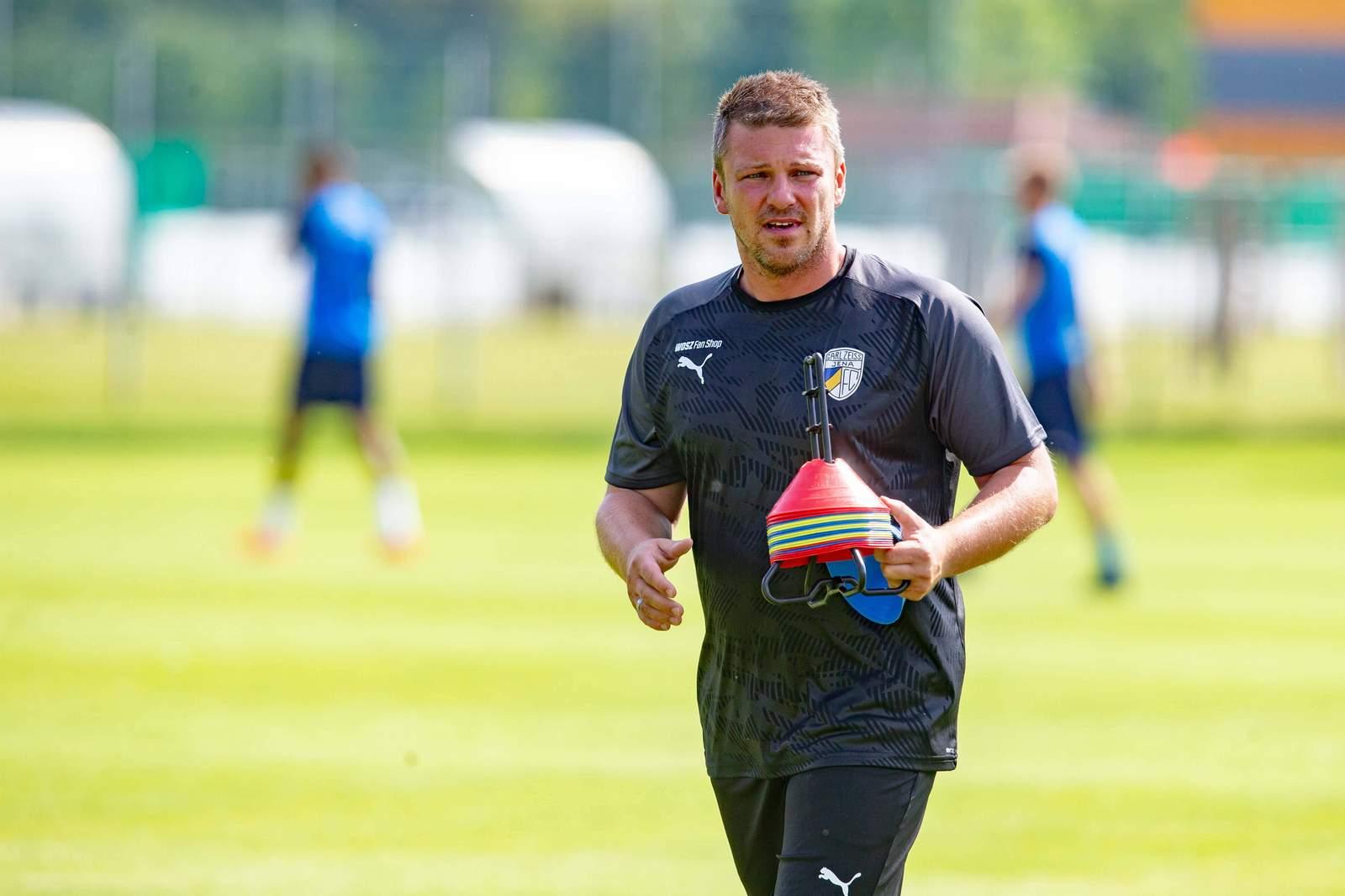 Lukas Kwasniok im Training.