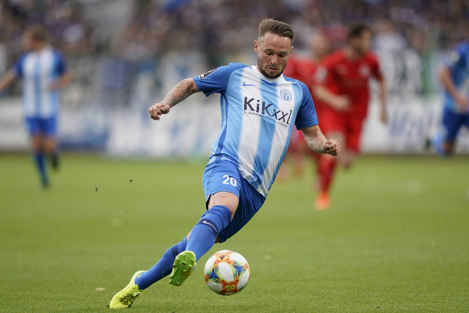 Marius Kleinsorge vom SV Meppen