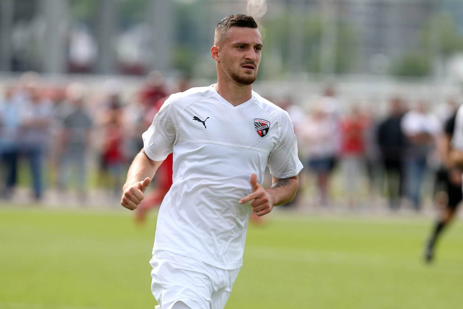 Maximilian Wolfram vom FC Ingolstadt